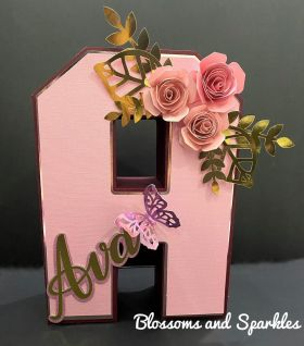 3D Letters 10 Inch