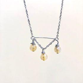 Fire Lanterns Necklace