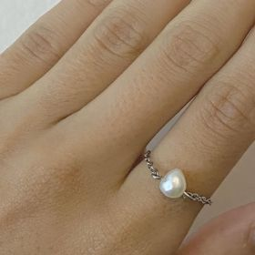Chain Ring - Pearl