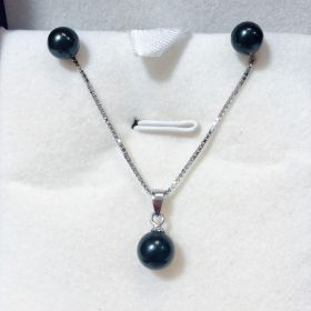 Saltwater Pearl Earring And Pendant Set
