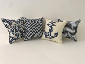 Sailor - Set of 4 Cushion Covers