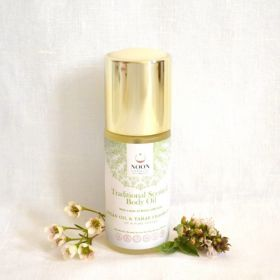 """Traditional Scented Body Oil """"refreshing sweet basil scent"""""""