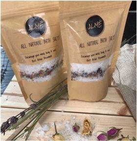 All Natural Aromatic Bath Salts