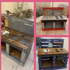Creative Mud Kitchen for The Kids
