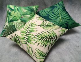 Green Forest - Set of 3 Cushion Covers