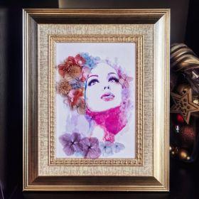 colourful portrait