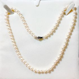 Pearl Necklace Single Strand 6-6.5mm