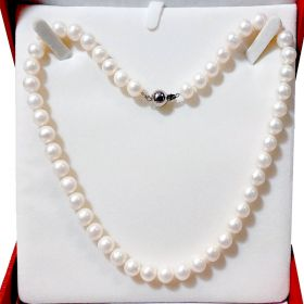 Pearl Necklace Single Strand 8-9mm