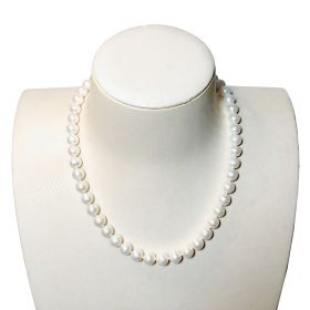 Pearl Necklace Single Strand 9-10mm