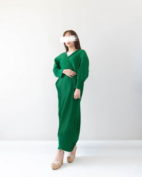 Green Abaya
