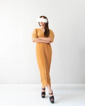 Yellow Ochre DNA Dress