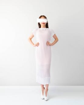 White DNA Dress
