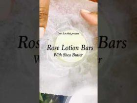 Rose Lotion Bar