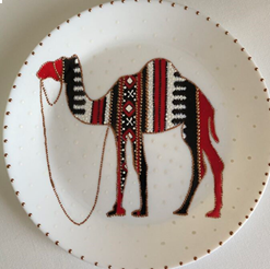 Sadu Camel Plate