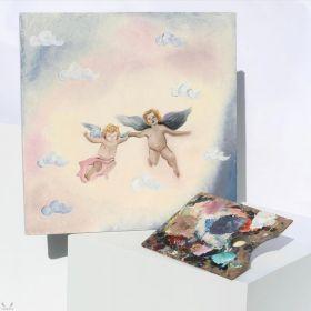 لوحة الملائكة - ابستراكت