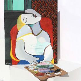 لوحة الحلم - بابلو بيكاسو