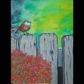 لوحة ملهمة - طائر