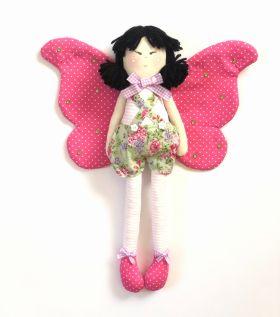 Butterfly Handmade Doll
