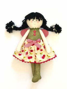 Handmade Butterfly Rag Doll