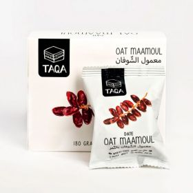 Oat MAAMOUL with Dates