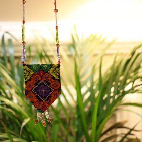 Handmade black necklace