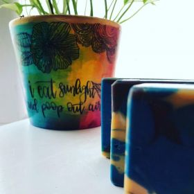 Peacock Soap