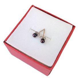 Freshwater Pearl Stud Earrings 3mm