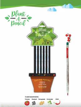 Treewise Plantable HB2 Pencils Pack