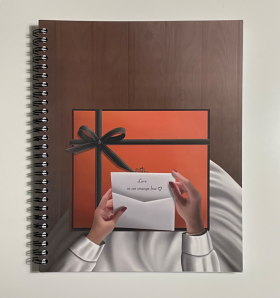 Love in an Orange Box Notebook