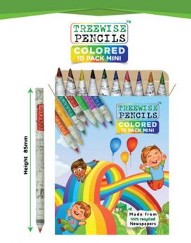 Treewise Colored Mini Pencils Pack