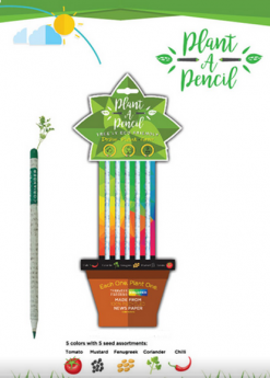 Treewise Plantable Colored Pencils Pack