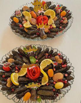 Plate of Vine Leaves