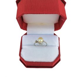Freshwater Pearl Ring3 S925 Silver