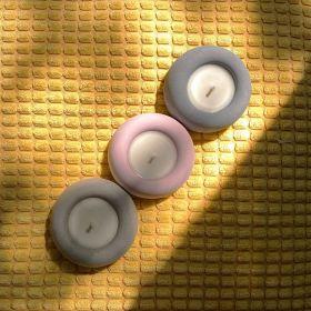 قوالب شمع صغيرة مستديرة الشكل