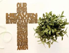 The Lords Prayer Cross