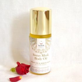 """Sweet Musk Body Oil """"powdery scent with glowing skin"""""""