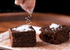 Guilt Free Chocolate Black Bean Brownie Bar