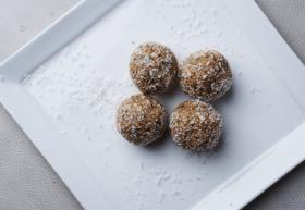 Guilt Free Lemon Coconut Protein Balls