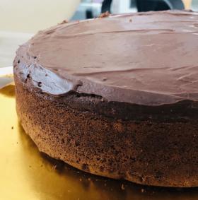 Guilt Free Chocolate Black Bean Cake