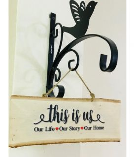 Inspirational Wood Sign (Wall Hanging)-This is Us