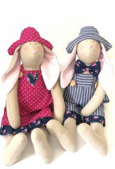 Handmade Bunny - Blue