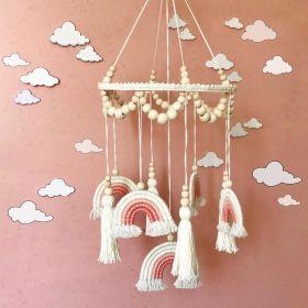 قوس قزح الوردي رومانسية موبايل