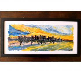 Sunset at the Skyline - Artwork