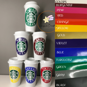 Personalized Starbucks Cup (16 oz)