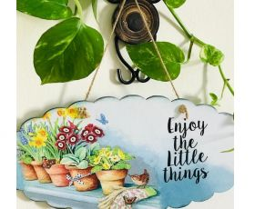 Inspirational Wall Art-Enjoy the Little Things