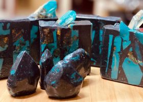 Blue Sapphire Crystal Soaps